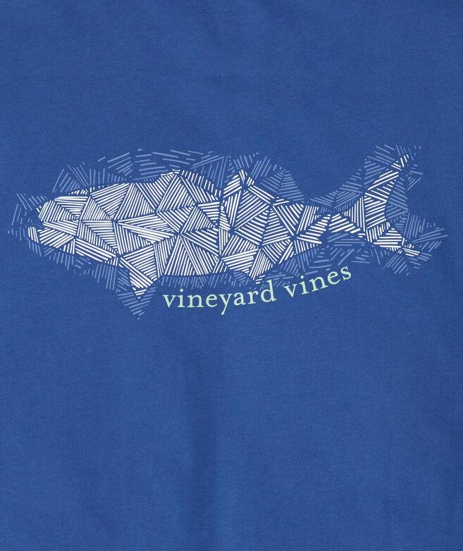 Hatched Bluefish Pocket T-Shirt