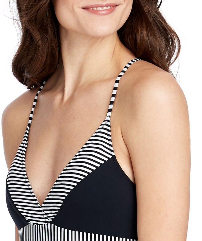 Sarah Stripe Sconset One-Piece Swimsuit