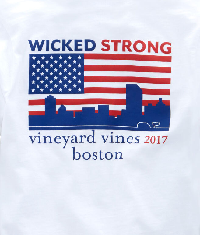 Long-Sleeve 2017 Boston Marathon T-Shirt