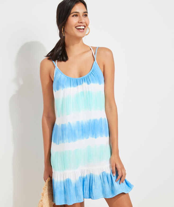 Surf Tie-Dye Breezy Cover-Up