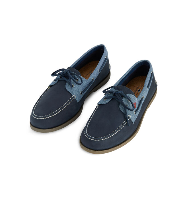 Mens Sperry x vineyard vines Authentic Original Plush Boat Shoe