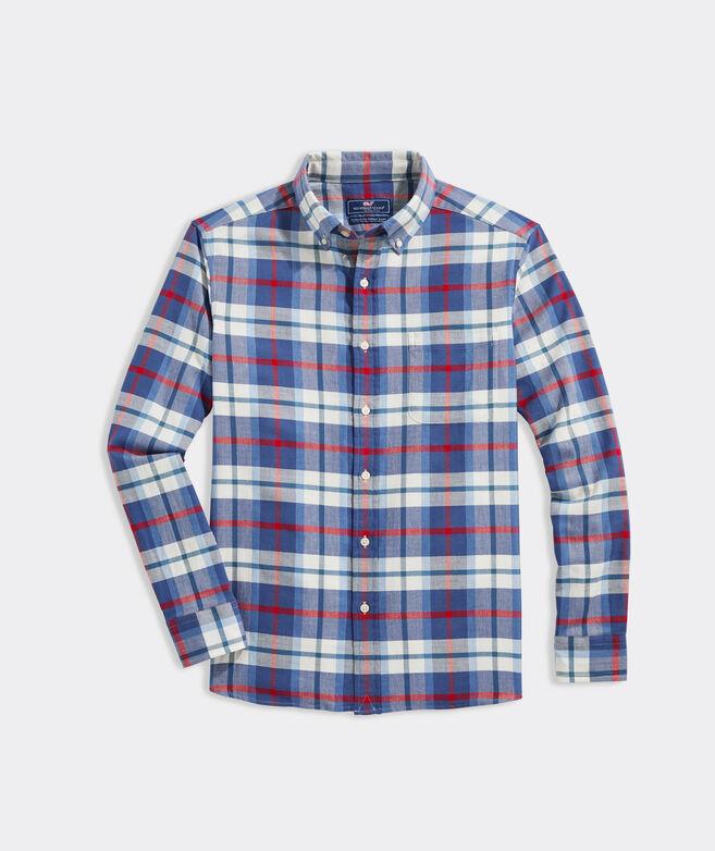 Island Twill Plaid Shirt