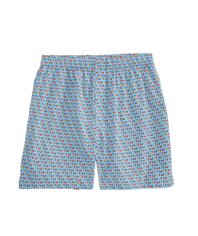 OUTLET Men's Beach Ball Printed Boxers
