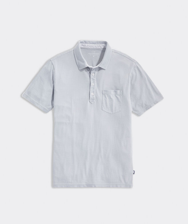 Striped Island Polo