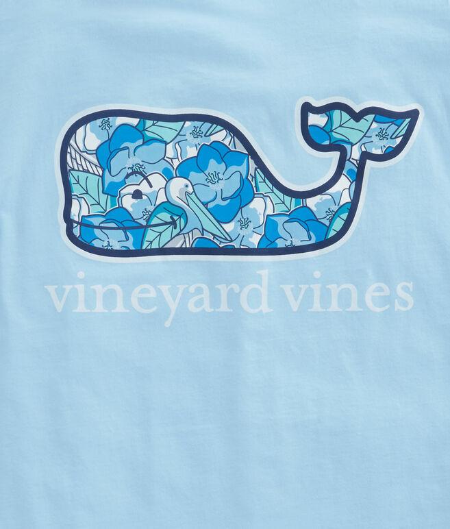 Pelican Magnolias Whale Fill Pocket T-Shirt