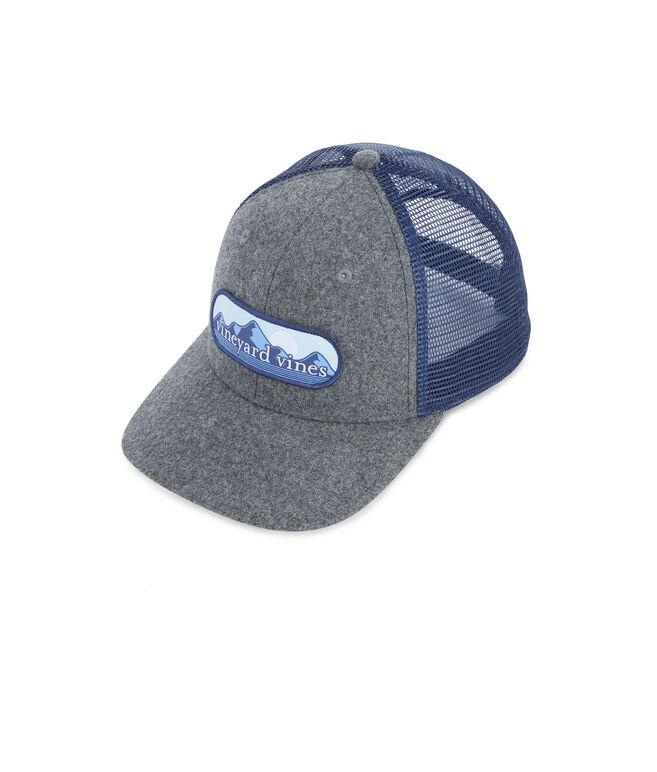 vineyard vines Mountain Patch Wool Trucker Hat