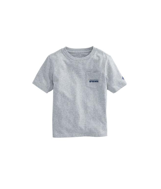 Kids Shark Week Sharks & Stripes T-Shirt