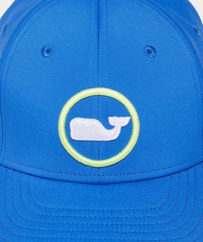Boys' Neon Whale Dot Performance Baseball Hat