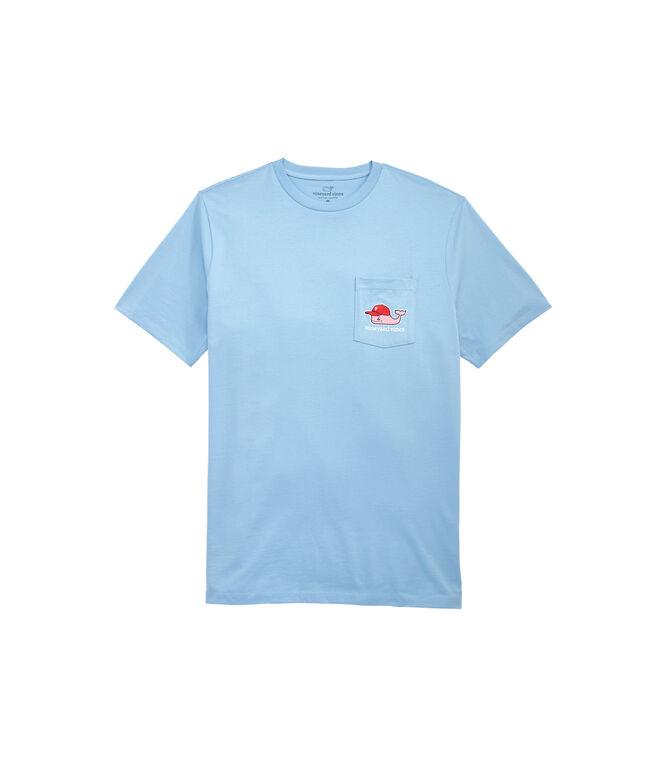 Philadelphia Phillies Baseball Cap Pocket T-Shirt