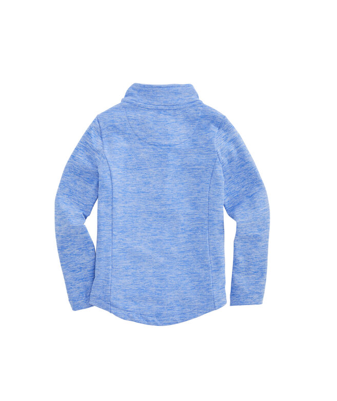 Girls Brushed French Terry Full-Zip
