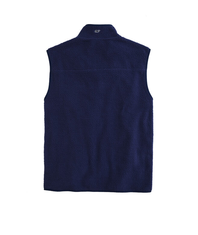 OUTLET Sherpa Fleece Vest
