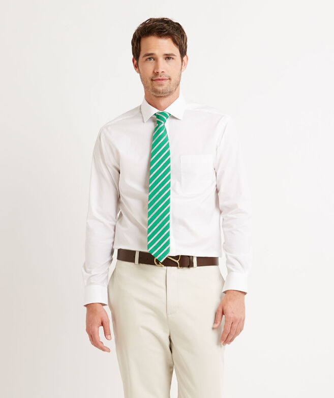 Solid White Cooper Shirt