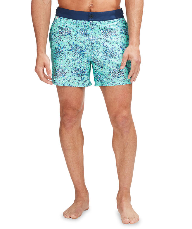 Printed Greenwich Trunks