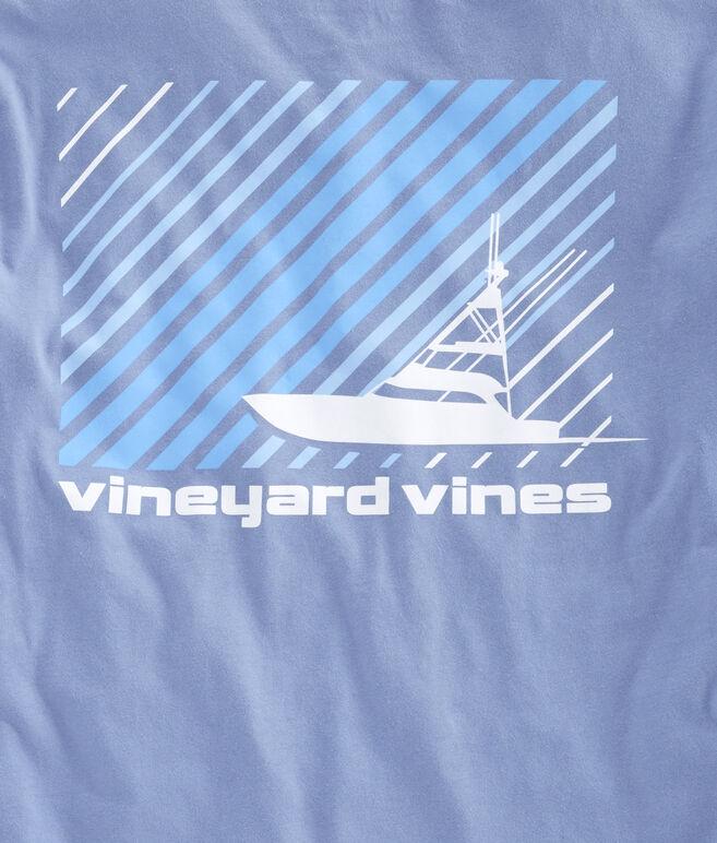 Striped Sportfisher Pocket T-Shirt