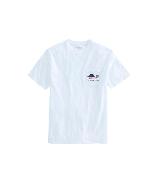 Cleveland Indians Baseball Cap Pocket T-Shirt