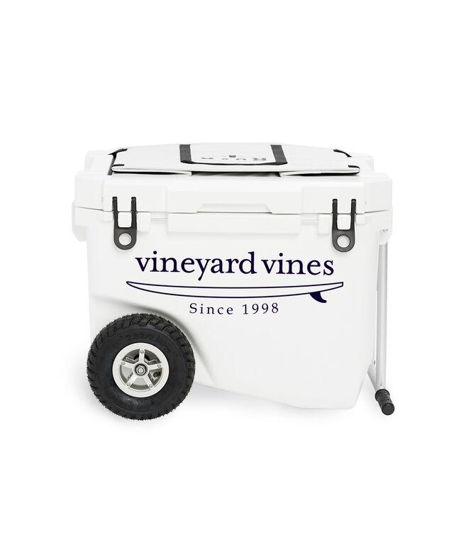 ROVR x vineyard vines Surf Logo RollR 60 Cooler