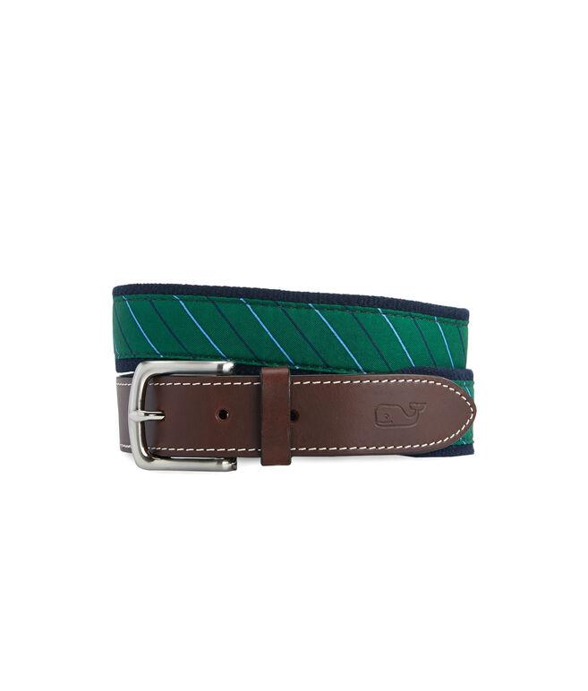 Collegiate Stripe Canvas Club Belt