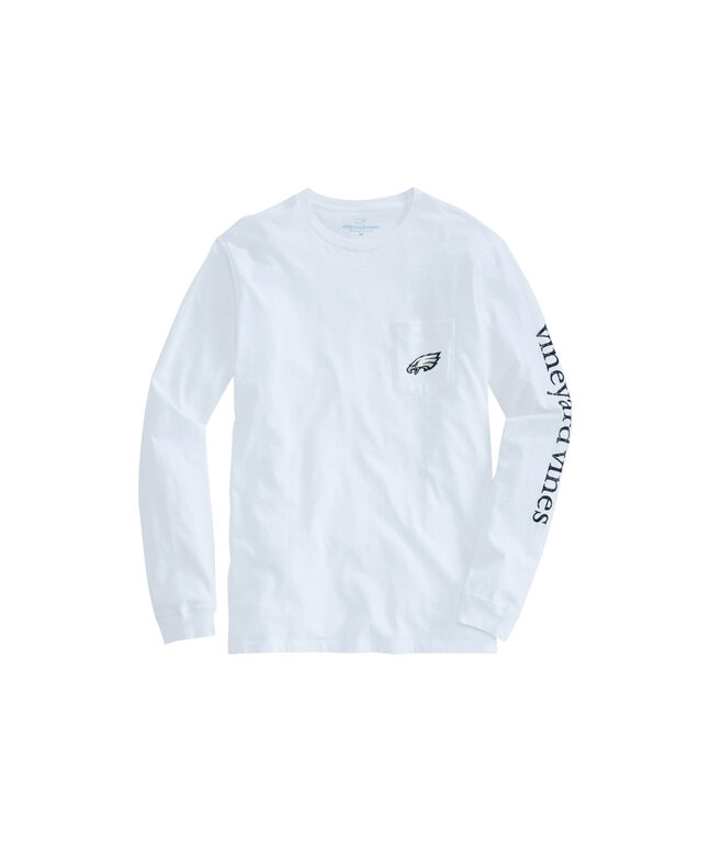 Philadelphia Eagles Long-Sleeve EDSFTG T-Shirt