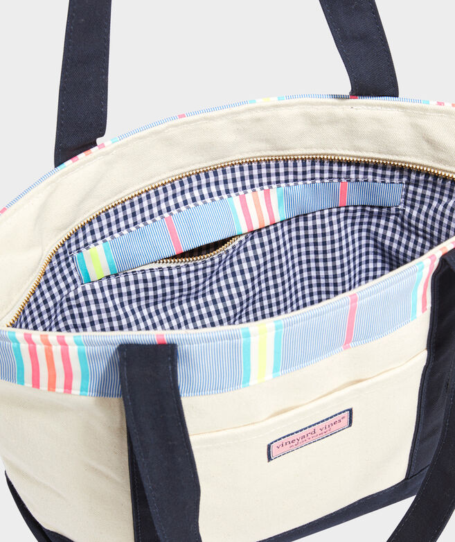 Beachy Stripe Classic Tote Bag
