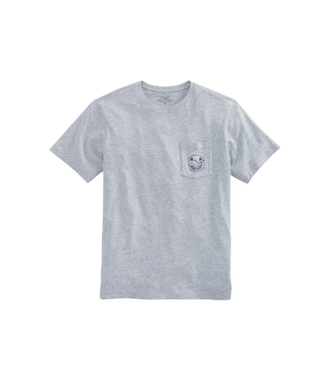 Patchwork Whale Pocket T-Shirt