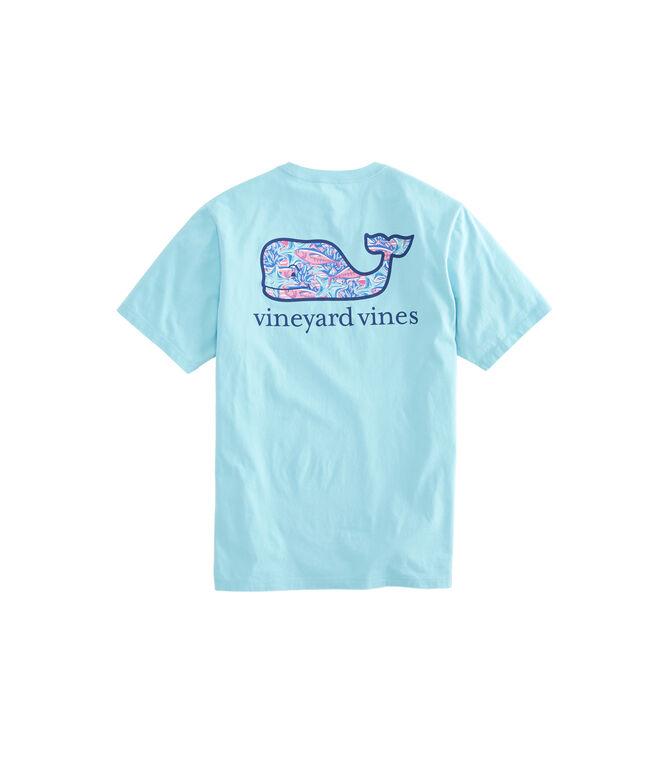 Tuna Starfish Whale Fill Pocket T-Shirt