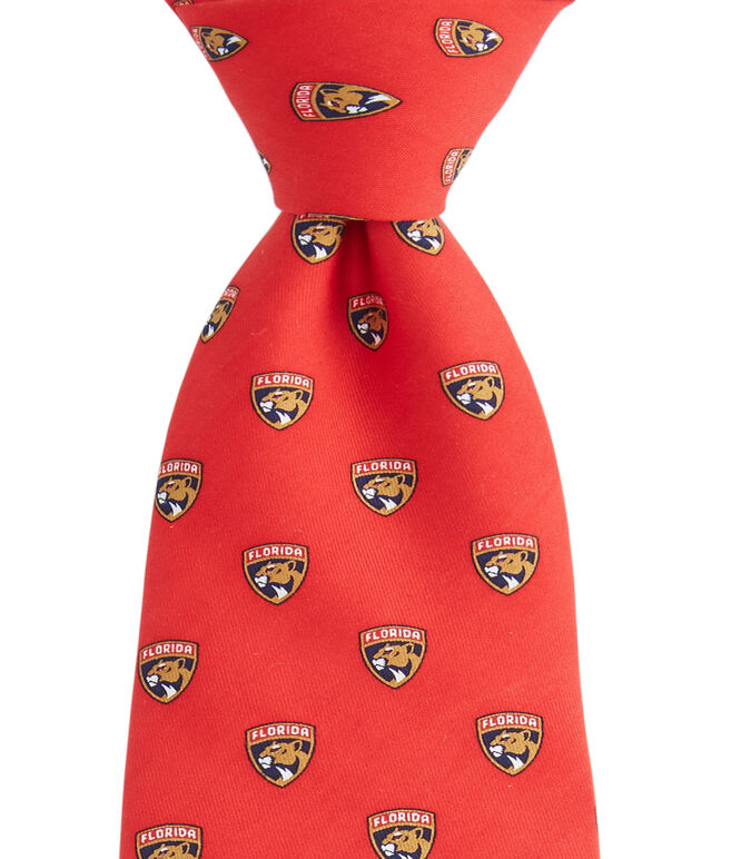 Boys Florida Panthers Logo Tie