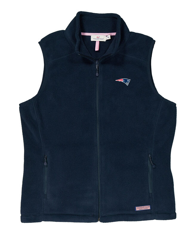 New England Patriots Womens Westerly Vest