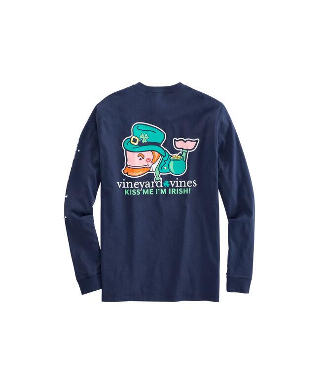 Kiss Me I'm Irish Pocket T-Shirt