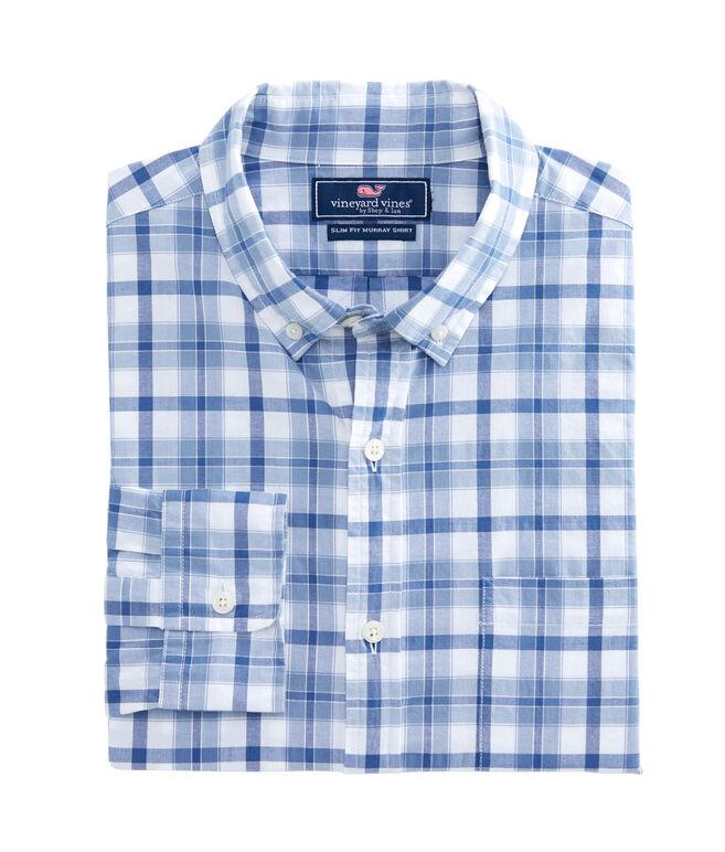 Deacon Plaid Slim Tucker Shirt