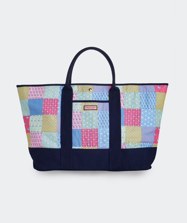 Heritage Patchwork Oversized Tote