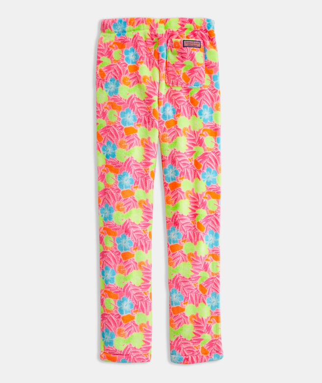 Girls' High Pile Lounge Pants