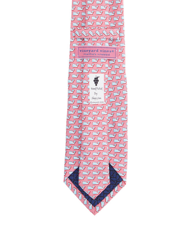 Extra Long Diver Whale Tie