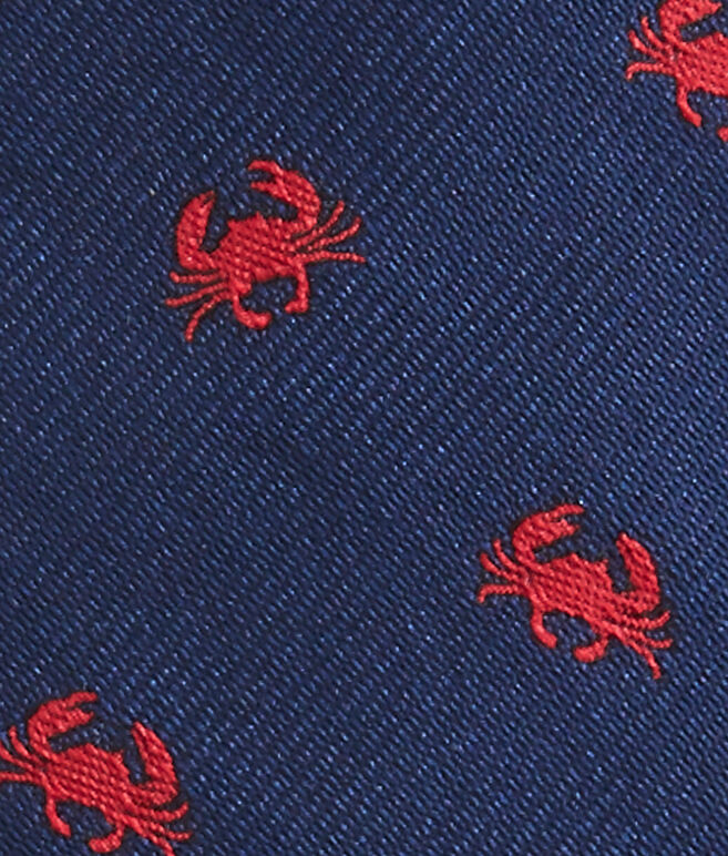 Kennedy Crabs Skinny Tie