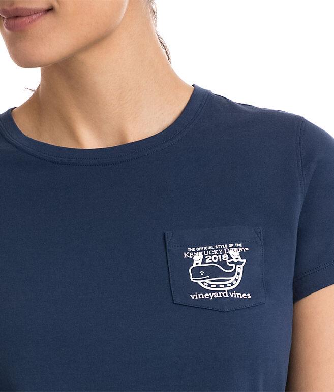Kentucky Derby Logo Pocket Tee