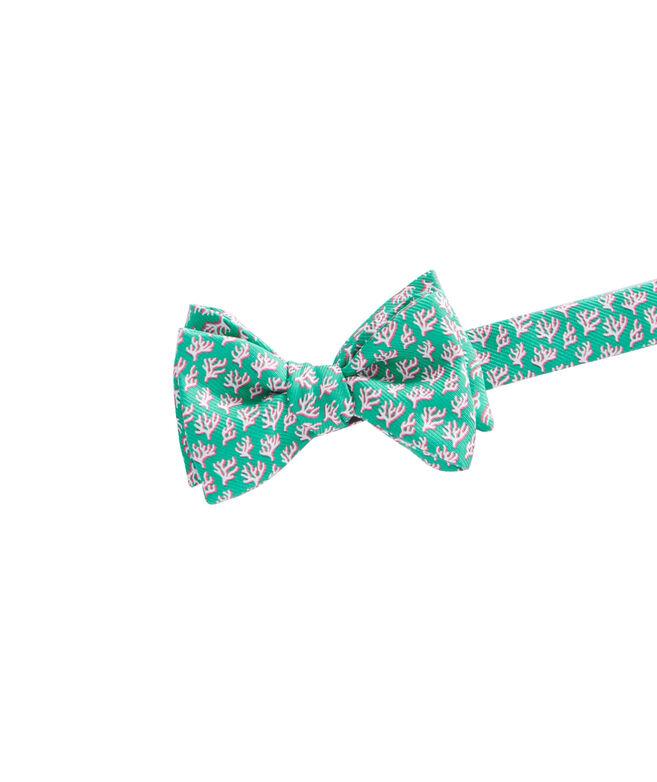 Coral Bow Tie