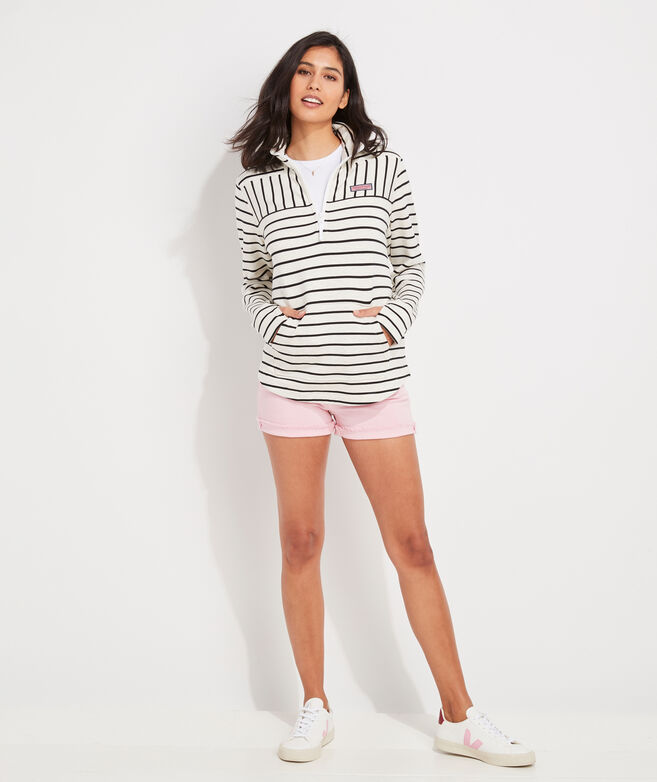 Dreamcloth Striped Relaxed Shep Shirt
