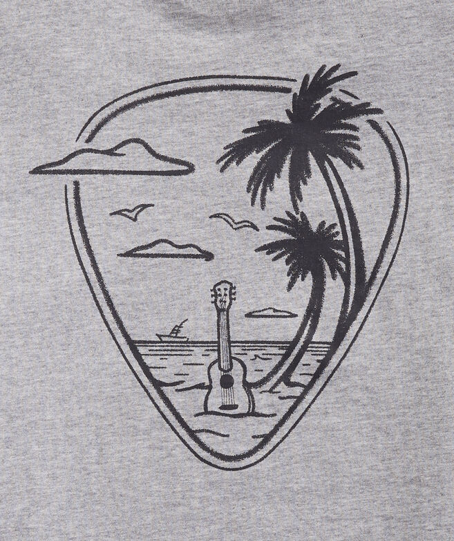 Guitar Pick Beach Short-Sleeve Tee