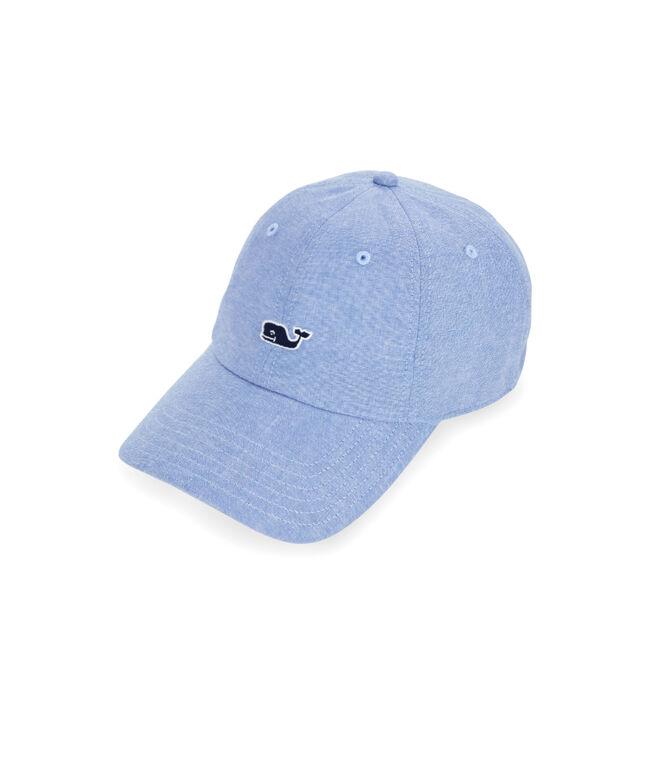 Chambray Logo Baseball Hat