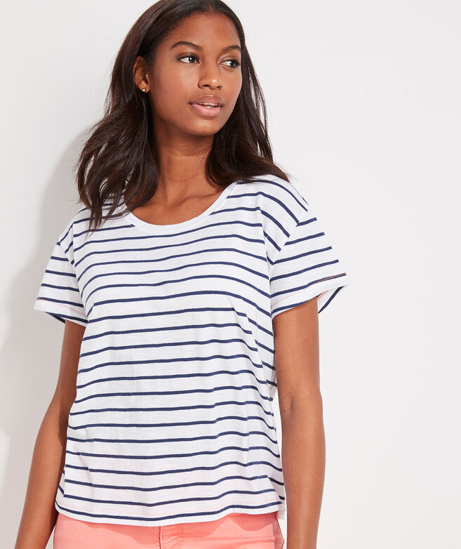 Striped Surftee