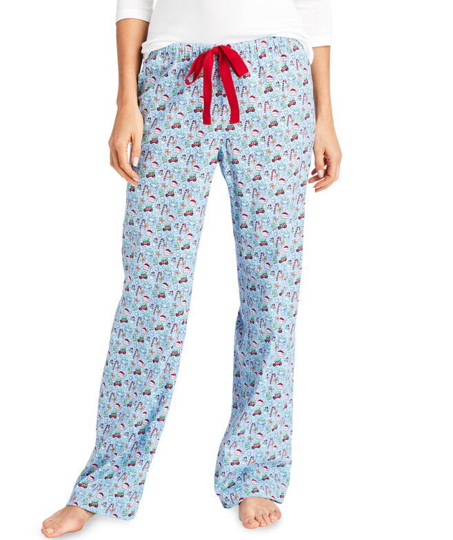 Holiday Print Pajama Pants