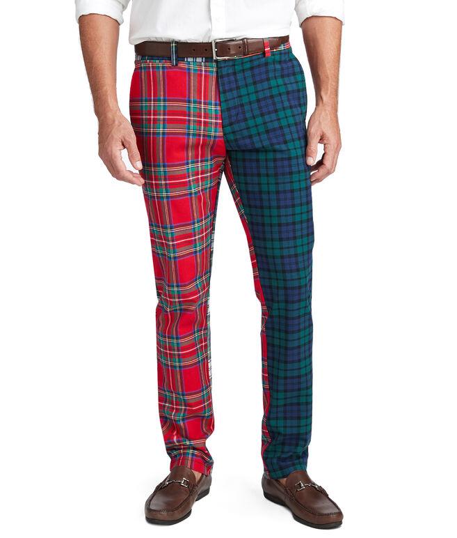 Party Tartan Slim Fit Pants