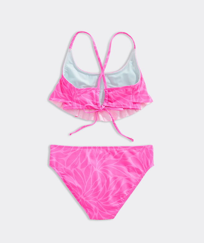Girls' In Full Bloom Flounce Bikini
