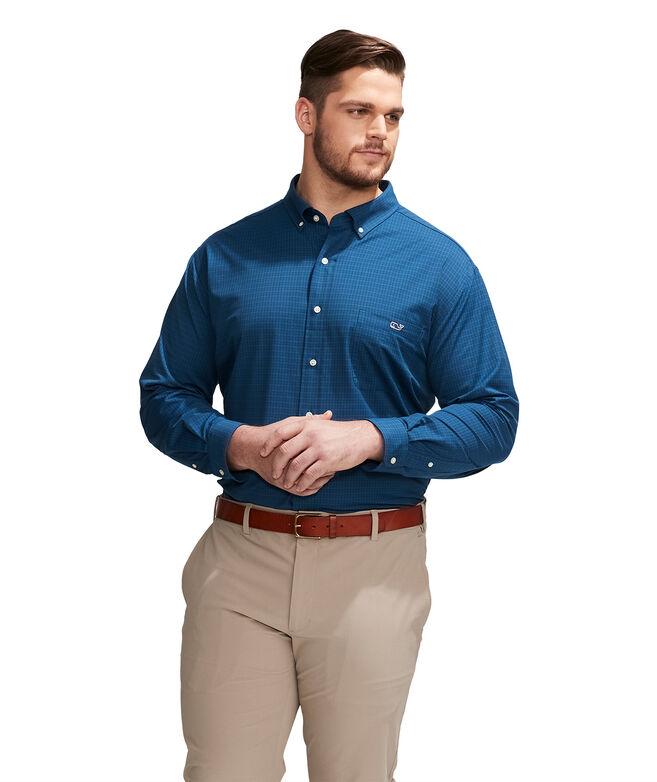 Big & Tall Dorade Performance Tucker Button-Down Shirt