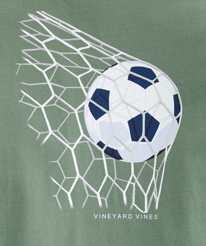 Boys' Soccer Goals Short-Sleeve Pocket Tee