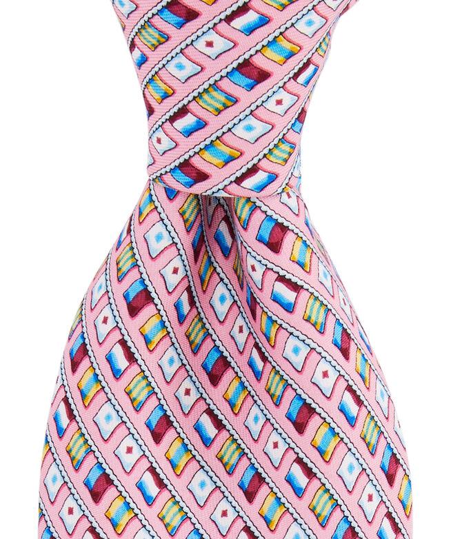 EDSFTG Flags Printed Tie