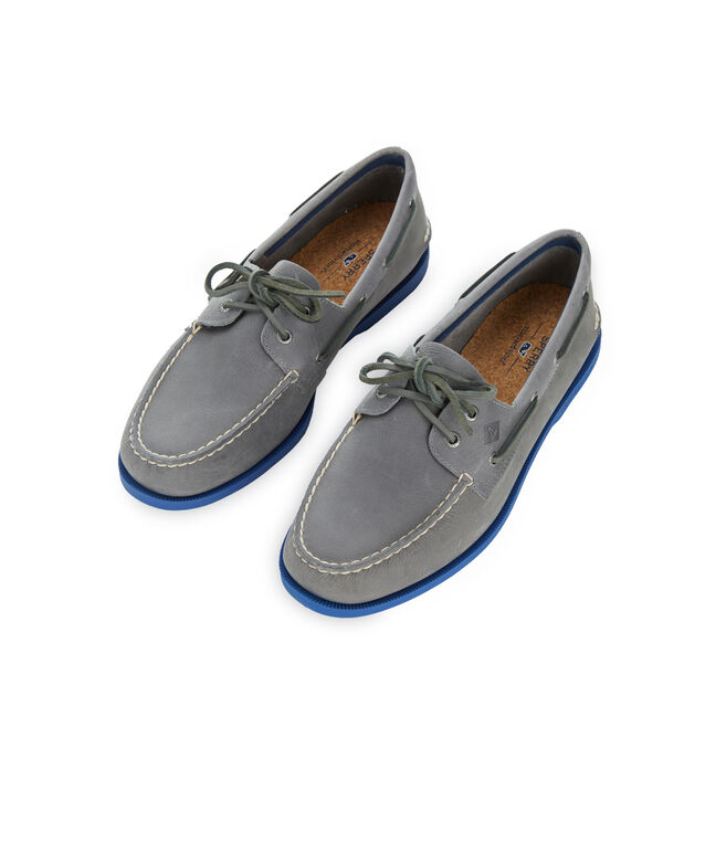Mens Sperry x vineyard vines Authentic Original Plush Two-Eye Boat Shoe