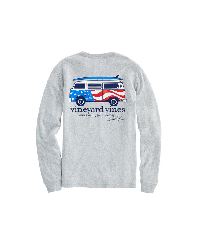 USA Bus & Board Long-Sleeve Tee
