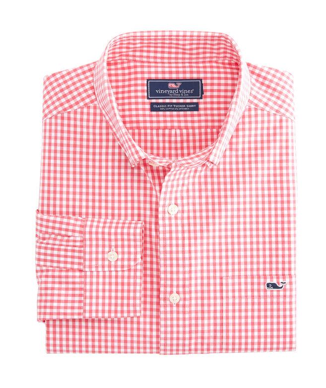 Classic Arawak Gingham Tucker Shirt