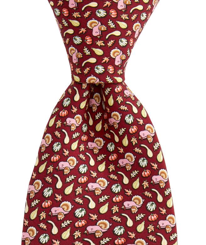 Gourds & Turkey Printed Tie