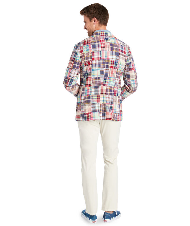 Madras Patchwork Unlined Sportcoat